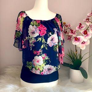 Pretty Floral print top